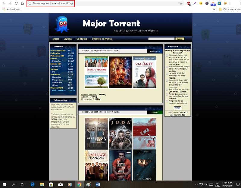 Quali sono le migliori pagine e motori di ricerca per i file di download Torrent che non sono stati bloccati? Elenco 2019 24