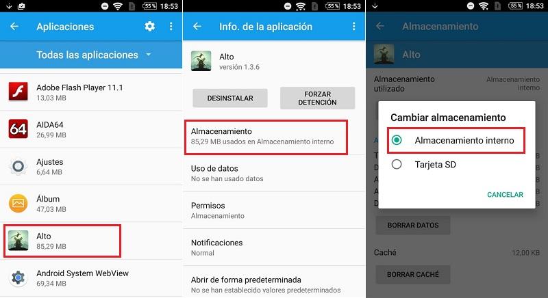 Come spostare le mie applicazioni sulla scheda SD o miniSD su un telefono o tablet Android? Guida passo passo 1