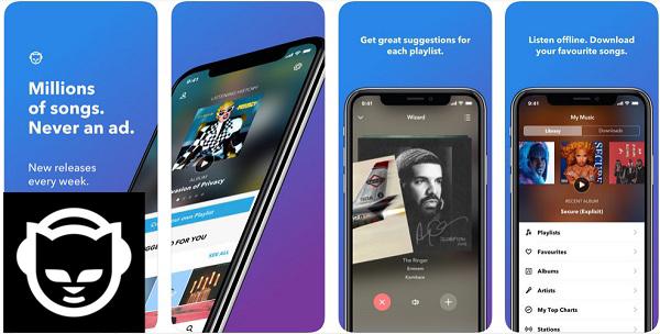Quali sono le migliori applicazioni per ascoltare e scaricare musica senza una connessione Internet su iPhone? 2019 4