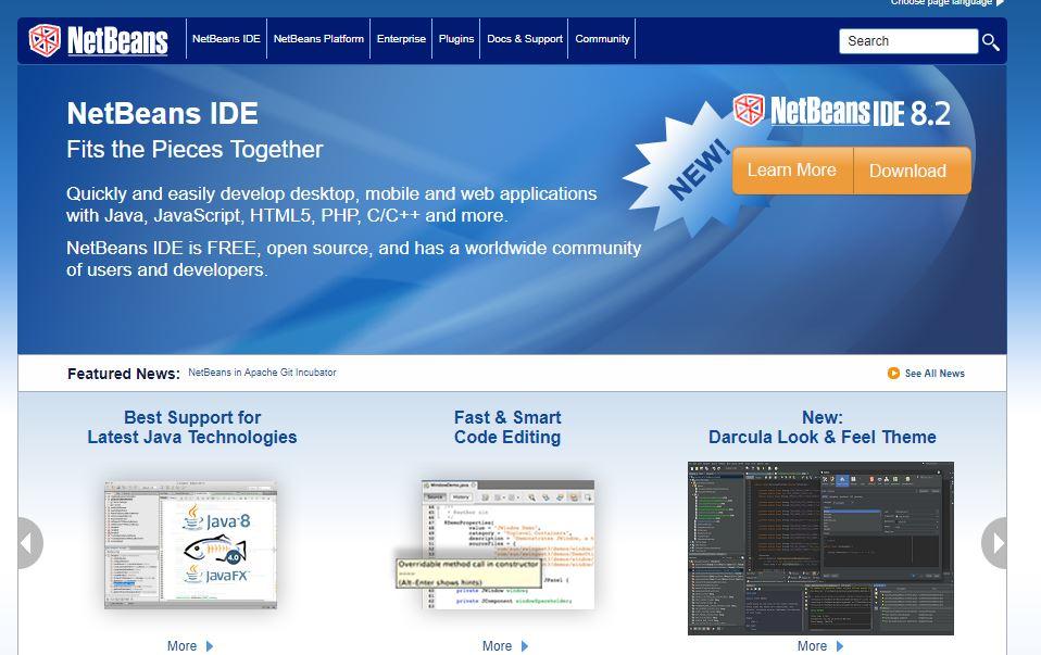 NetBeans, la piattaforma di sviluppo per Java 2