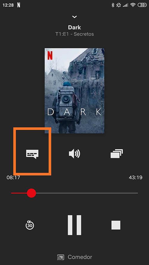 Come abilitare o disabilitare i sottotitoli nei film, nelle serie e nei documentari di Netflix? Guida passo passo 2