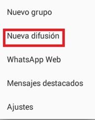 Come inviare messaggi di massa da Whatsapp Messenger? Guida passo passo 8