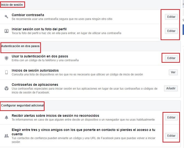 Come configurare Facebook in spagnolo e migliorare la mia privacy sui social network? Guida passo passo 9