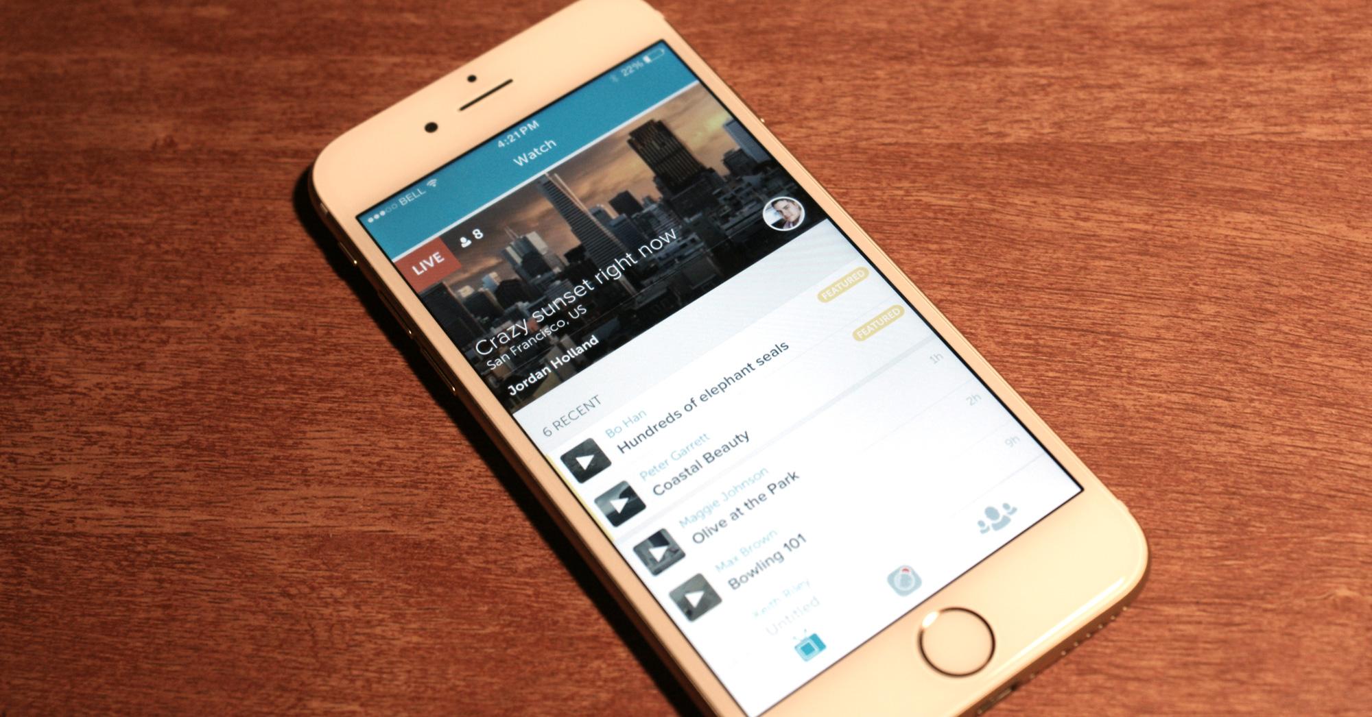 Scarica Periscope per iOS. Streaming con Twitter 1