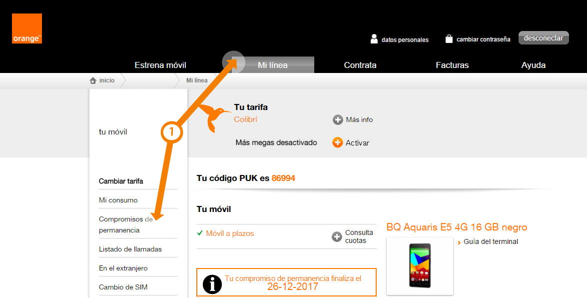 Controlla la permanenza di Orange su computer e cellulari 1