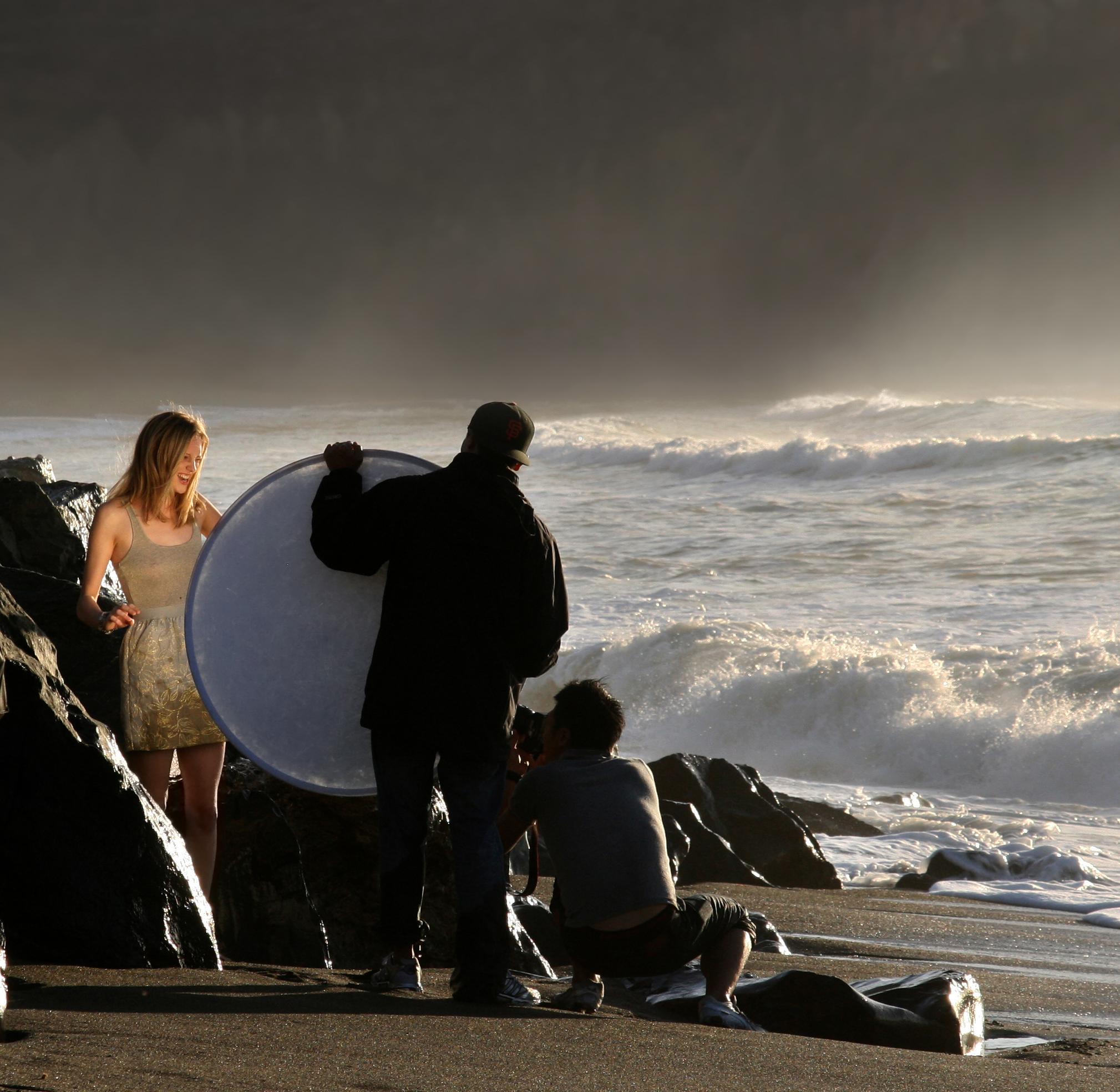 Come usare il riflettore di luce nelle fotografie? Diversi tipi di riflettori 1