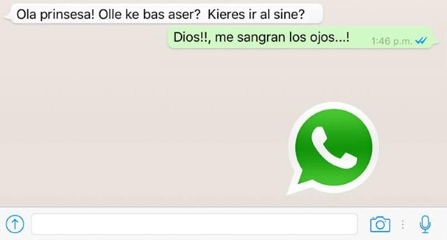 Come mettere il correttore ortografico in WhatsApp 1