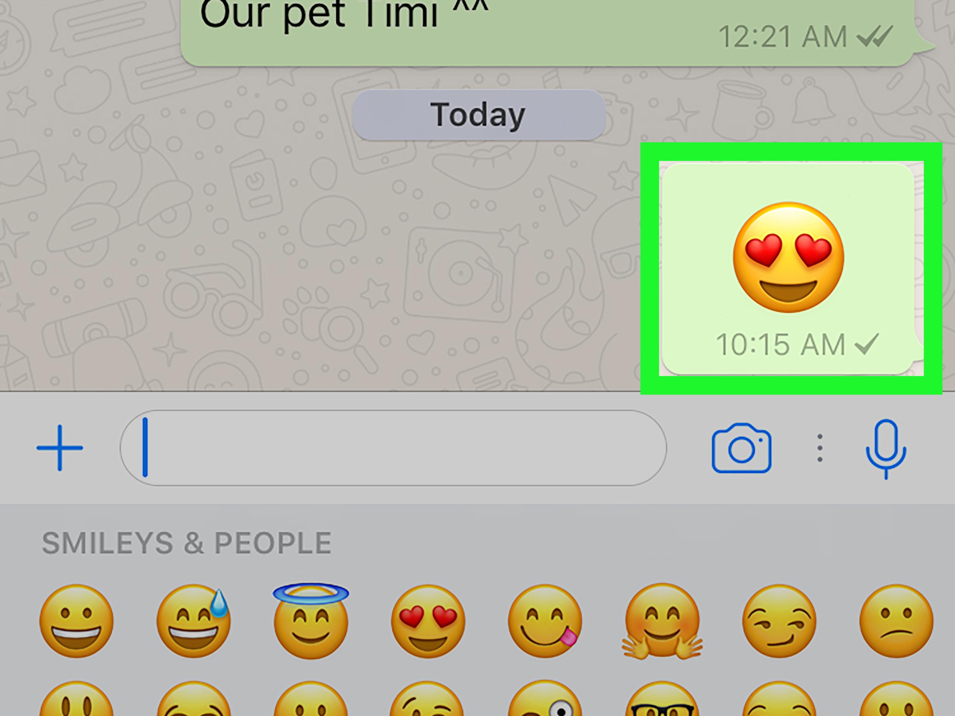 Come mettere Emoji ai contatti di WhatsApp 1