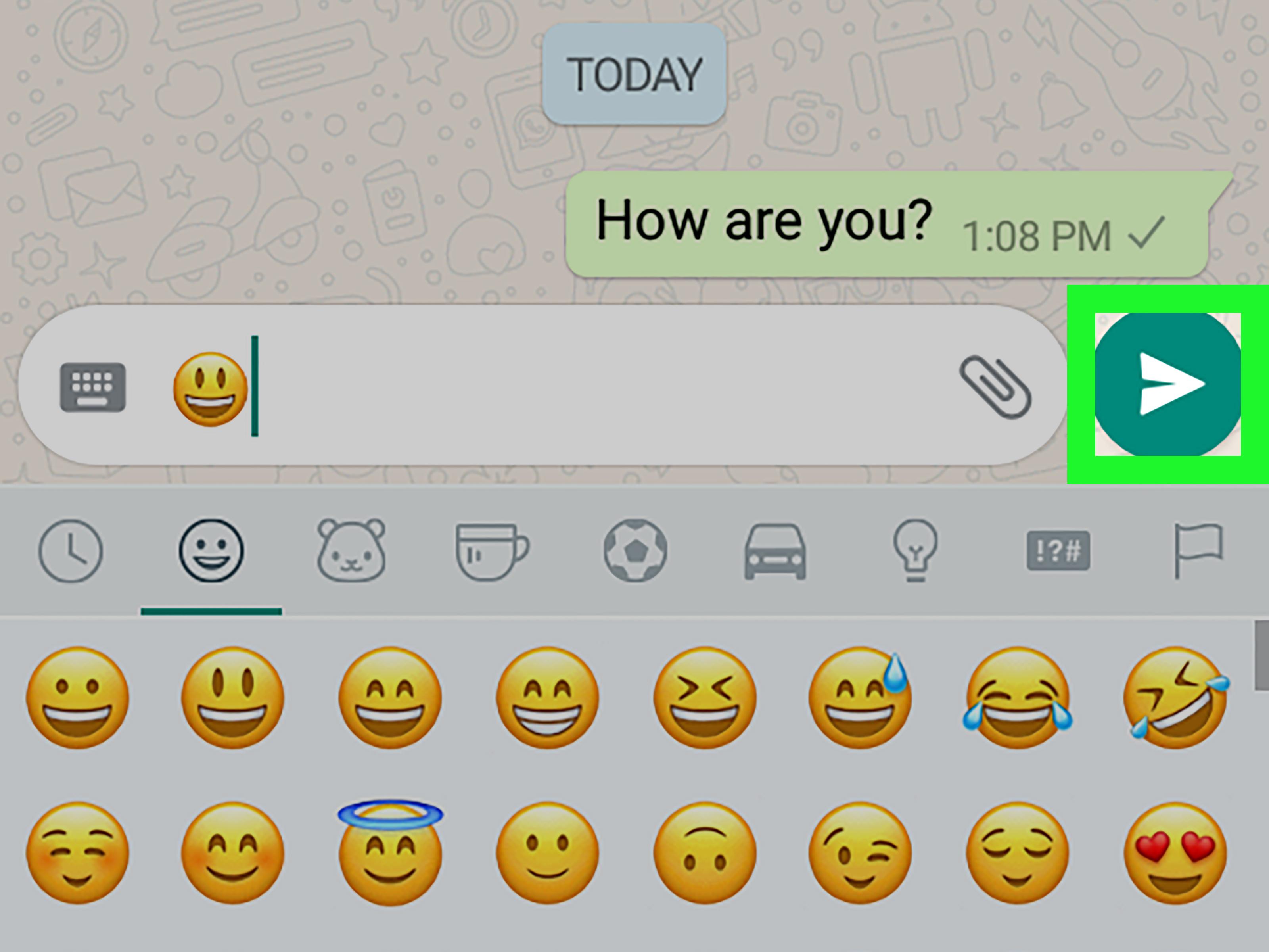 Come mettere Emoji ai contatti di WhatsApp 2