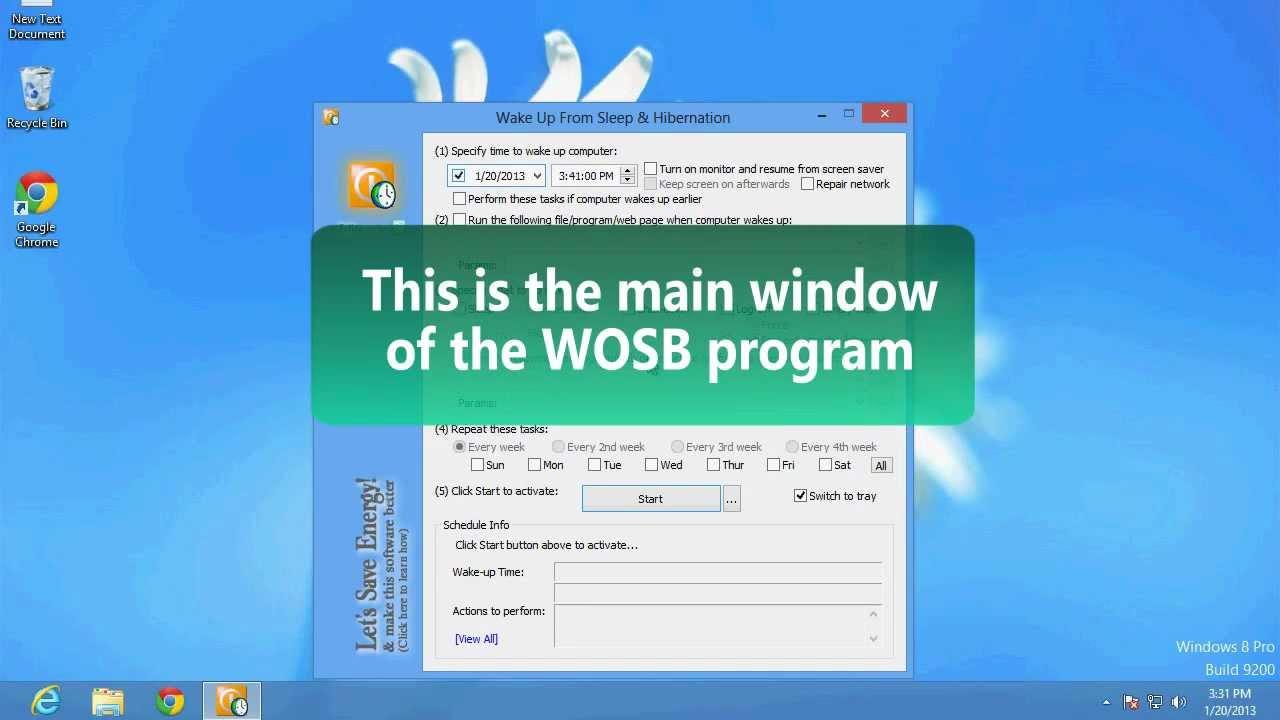 Come programmare l'accensione e lo spegnimento automatici in Windows 10? 2