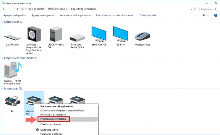 Come conoscere l'indirizzo IP di una stampante e qualsiasi altro hardware? Guida passo passo 3