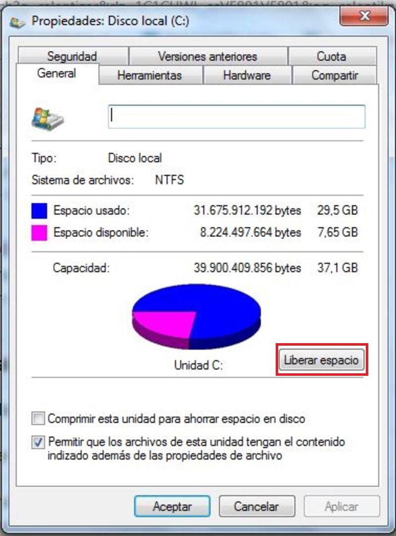 Come pulire un disco rigido da file non necessari per avere più spazio sul mio computer? Guida passo passo 2