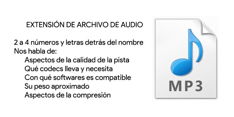 Estensione di file audio; Cosa sono, a cosa servono e che tipi ci sono? 1