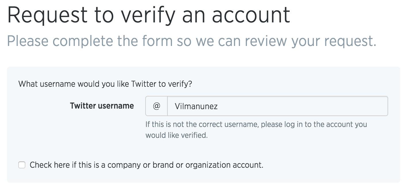 Come verificare un account Twitter, il mio account Twitter è verificato? 2