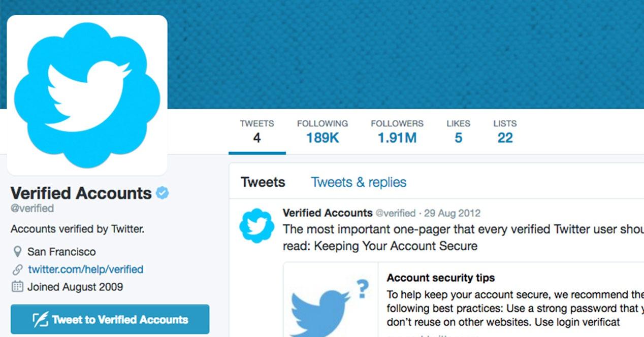 Come verificare un account Twitter, il mio account Twitter è verificato? 1