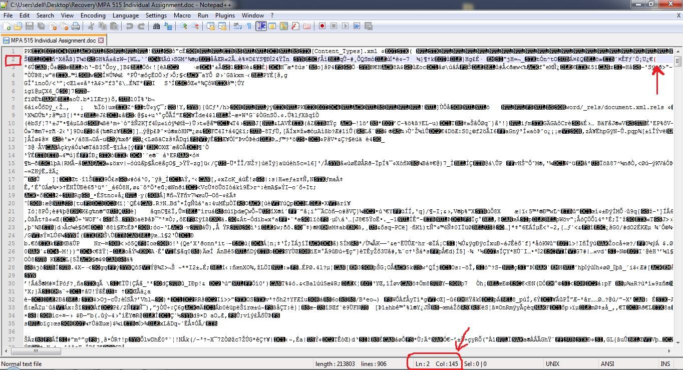 Come riparare i file di Word danneggiati 2