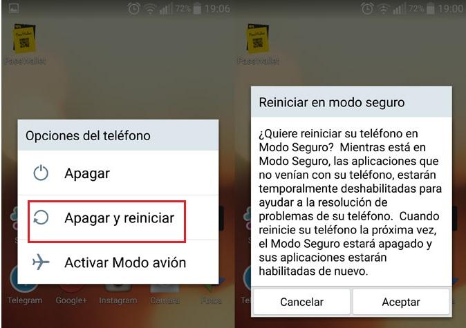 Come disabilitare la modalità provvisoria su Android? Guida passo passo 1