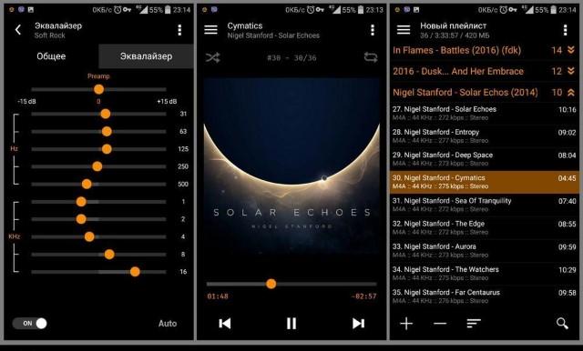 I migliori lettori musicali per Android 2.3.6 3