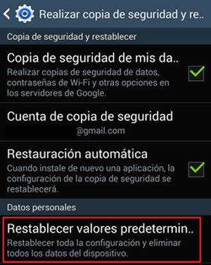Come ripristinare un telefono Samsung e ripristinare le impostazioni di fabbrica del dispositivo? Guida passo passo 1