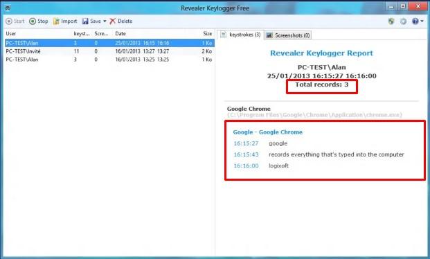 Come usare Revealer Keylogger facilmente? 2