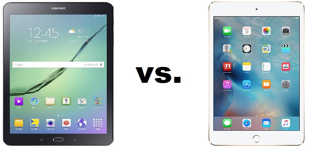 Samsung Galaxy Tab S2 vs iPad Mini 4 Qual è la migliore? 1