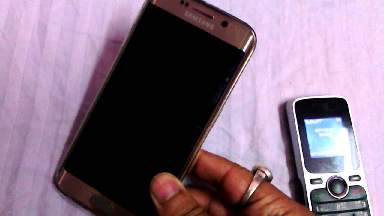 Problema su Samsung Galaxy schermo nero e luce LED blu 2