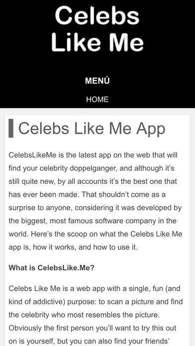 Scarica l'app Celebs Like Me sul tuo telefonino 2