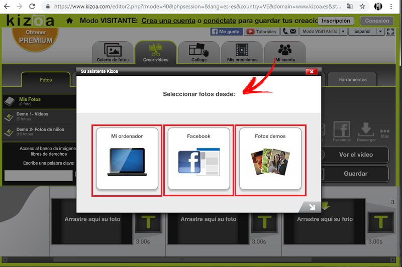 Come unire più video in uno online e gratis? Guida passo passo 4