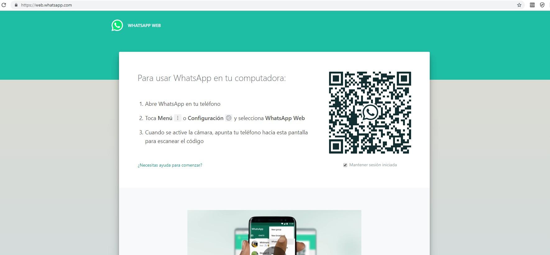 Come risolvere l'accesso recente a WhatsApp Web - Guardacome.com
