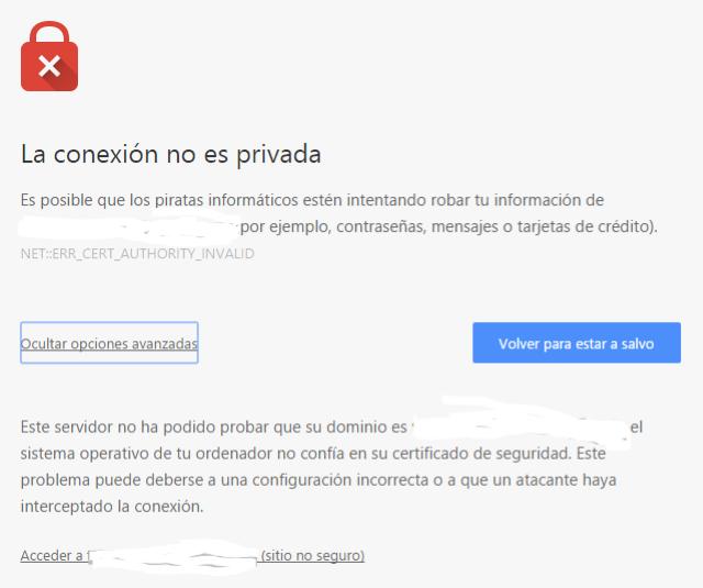 Correggi errore SSL in Google Chrome [Tutorial completo] 2