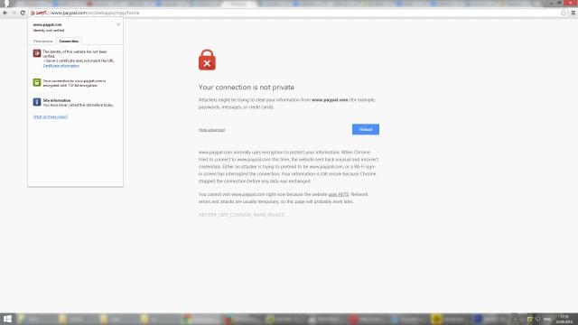 Correggi errore SSL in Google Chrome [Tutorial completo] 1