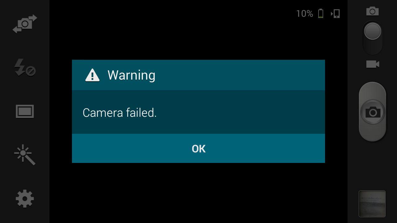 Come riparare l'errore Samsung Mobile Camera? 3