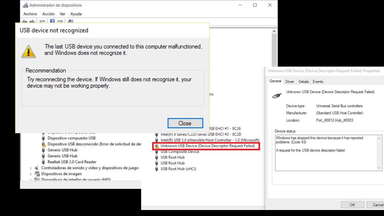 Come risolvere l'errore di richiesta del descrittore in Windows? 1