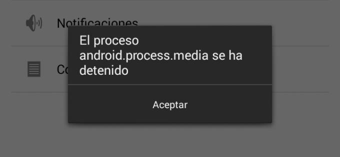 Come risolvere android.process.media interrotto. Facile e veloce 1