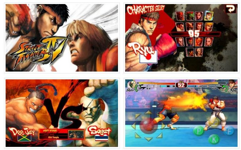 Scarica street fighter 4 per Android 1