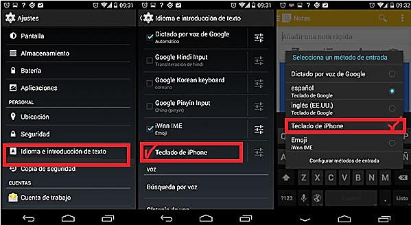 Come avere la tastiera di un telefono iPhone sul tuo smartphone Android? Guida passo passo 3