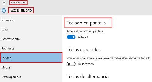Come mettere e attivare la tastiera virtuale sullo schermo di qualsiasi computer? Guida passo passo 15