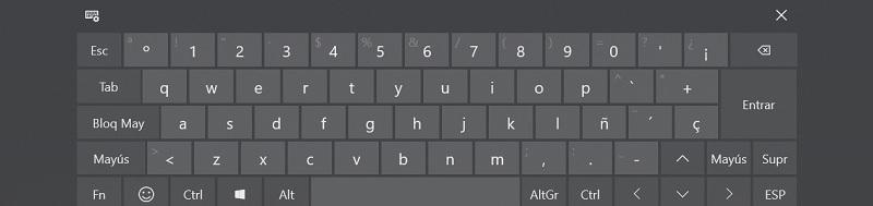 Come mettere e attivare la tastiera virtuale sullo schermo di qualsiasi computer? Guida passo passo 6