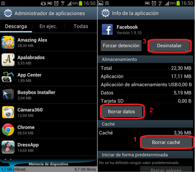 Come avere più memoria interna su Android 3