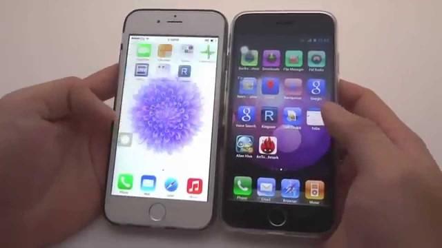 Scopri i migliori trucchi per il clone di iPhone 6 con Android 4