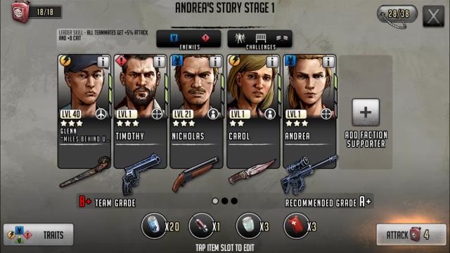 I migliori trucchi per The Walking Dead Road to Survival 3