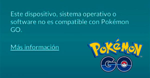 Il tuo dispositivo non è compatibile con Pokémon Go, come si gioca? 2