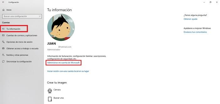Come modificare il nome utente in un account di Windows 10? Guida passo passo 2