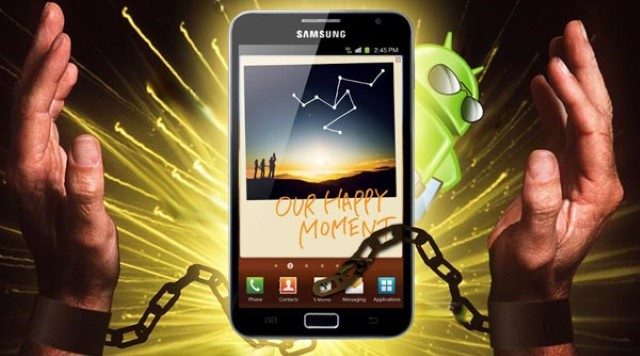 Come eseguire il root del Samsung Galaxy Note N7000 SENZA PC [Step by Step] 1