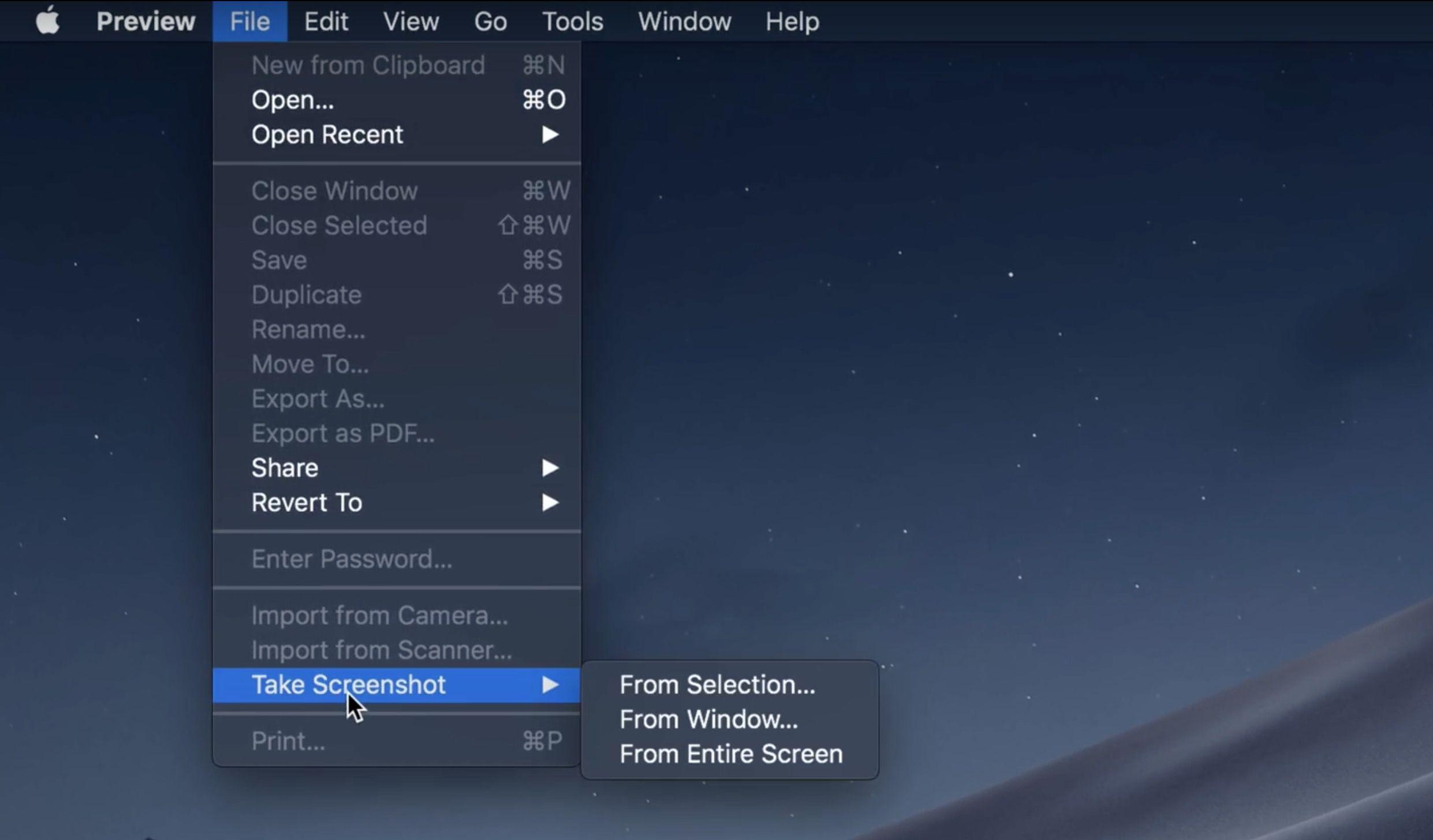 Come fare uno screenshot su Mac? 3