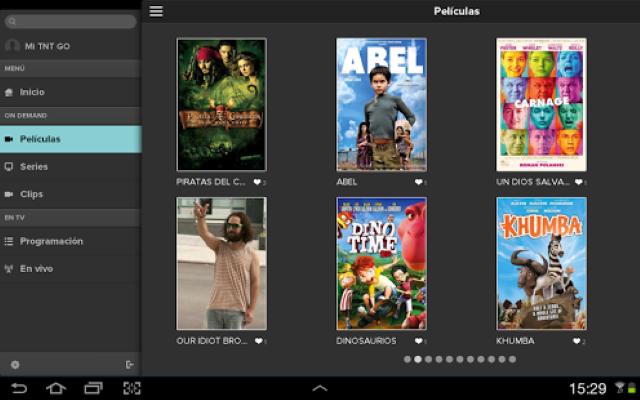 Come puoi guardare TNT GO e TNT GO HD su Android 2