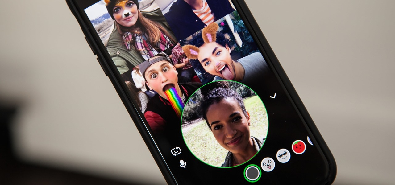 Come effettuare una videochiamata di gruppo su Snapchat passo dopo passo 2