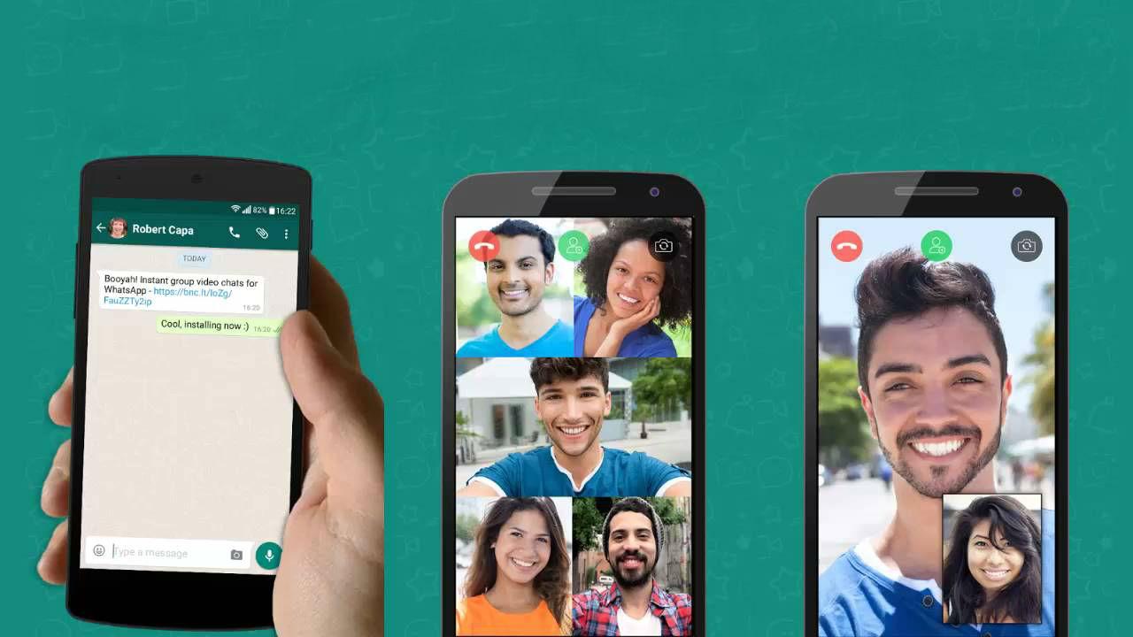 Come effettuare videochiamate di gruppo su WhatsApp 2