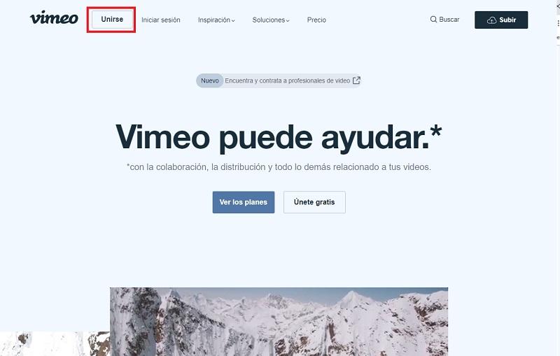 Come creare un account Vimeo per guardare e caricare video in streaming gratuiti? Guida passo passo 11