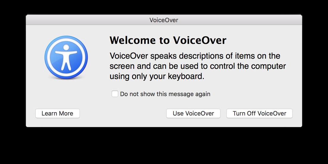 Come disabilitare VoiceOver su Mac facilmente 1
